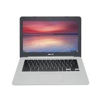 "ASUS Chromebook C301SA-R4020-OSS 1.6GHz N3160 13.3"" 1920 x 1080pixels Grey,Silver Chromebook"