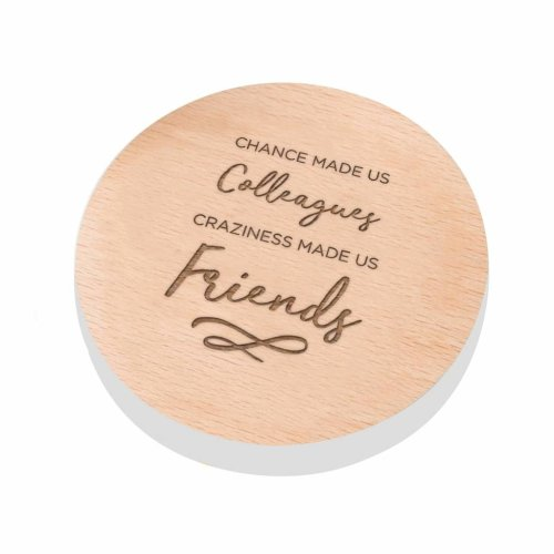Chance Made Us Colleagues Craziness Friends Colleague Coaster Gift Ideas For Birthday Work Friend On