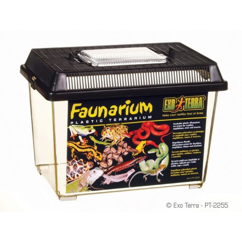 Exo Terra Faunarium Plastic Terrarium 23x15.5x17cm