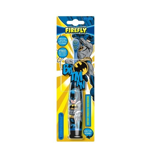 Firefly Batman Turbo Max Electric Toothbrush Soft Age 6+
