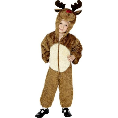 7c1f5de88 Reindeer Costume - Child - 4-6 Years - reindeer costume christmas fancy  dress kids outfit rudolph nativity child all one boys girls 46