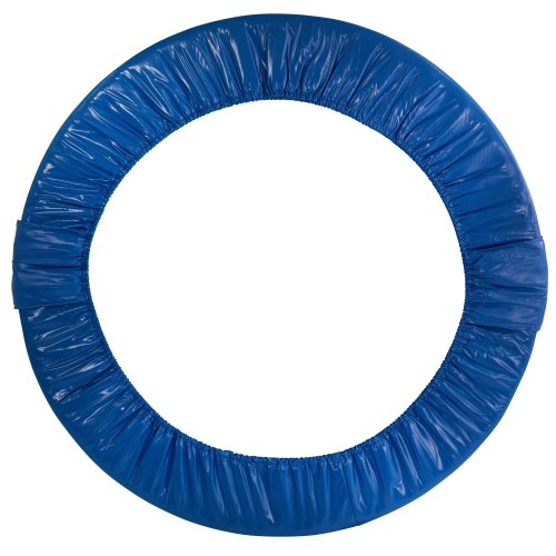 Upper Bounce Mini Round Foldable Replacement Trampoline Safety Pad (Spring Cover) for 6 Legs - Blue