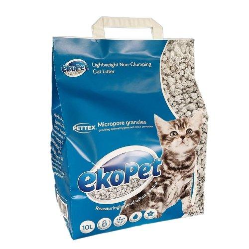 Eko Pet Lightweight Non Clumping Micropore Cat Litter