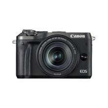 Canon M6 Mirrorless Camera with EF-M 18-150 mm Lens - Black