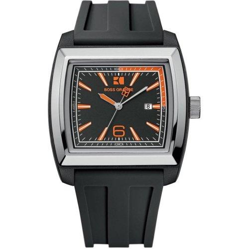 BOSS ORANGE Black Rubber Mens Watch 1512601