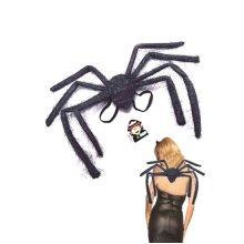 Multi Coloured Spider Legs On Wings -  wings spider fancy dress halloween accessory black legs