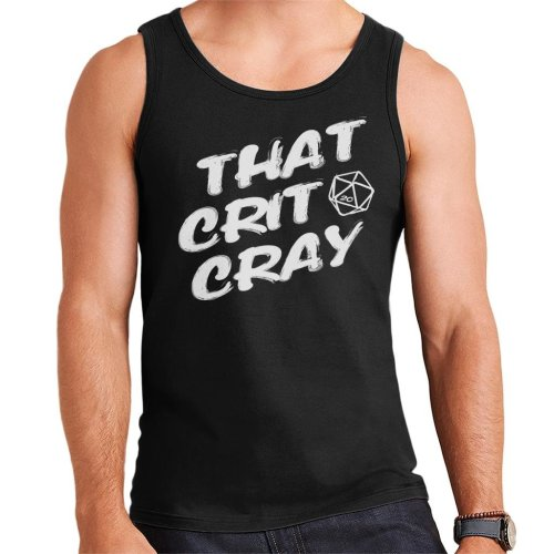 Dungeons And Dragons That Crit Cray Men's Vest