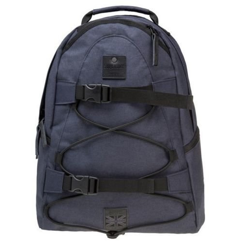New Mens Superdry Blue Surplus Polyester Backpack