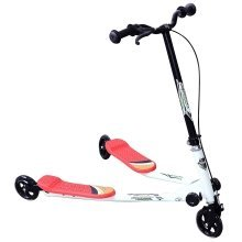 Homcom Kids' 3-Wheel Foldable Scooter
