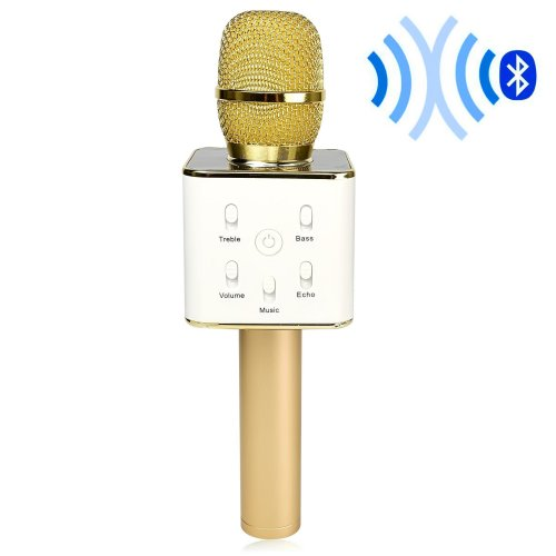 DIGITNOW! Bluetooth Karaoke Microphone, Wireless Mini Handheld Cellphone Karaoke Player with Stereo Speaker for IOS/Android Smartphone