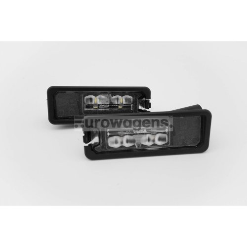 Number plate lights set OEM LED VW Golf MK7 12-17