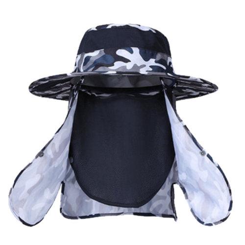 Summer Sun UV Protection Fisherman Visor Outdoor Cap#J
