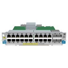 Hewlett Packard Enterprise 20-port Gig-T PoE+ / 2-port 10GbE SFP+ v2 Gigabit Ethernet network switch module