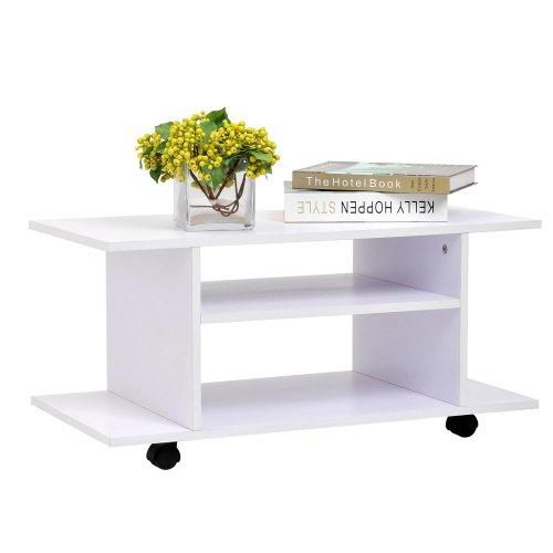 Homcom Modern Tv Cabinet Stand