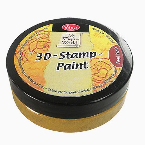 Viva Decor Gold -3D Stamp Paint