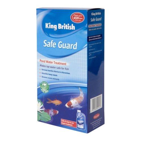 King British Pond Safe Guard (de Chlorinator) 500ml