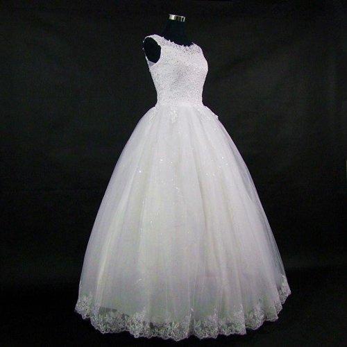Lace Embroidered Beading Vintage Sweet Straps Wedding Dress Yarn Puff Vestido De Noiva