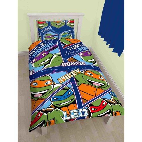 Teenage Mutant Ninja Turtles Single Duvet Cover Set Polyester
