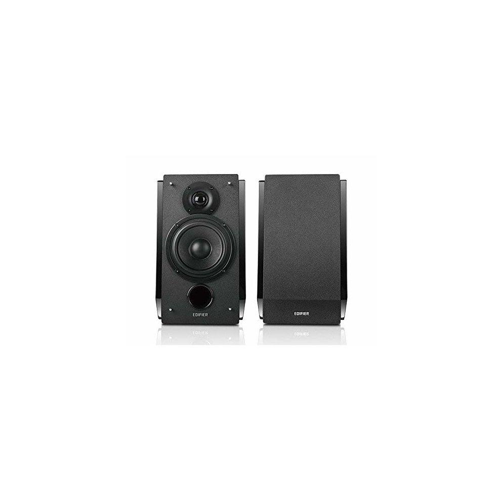 0b749f3a9f368f ... Edifier R1850DB Active Bookshelf Studio Speakers with Bluetooth - Matt  Black - 1 ...