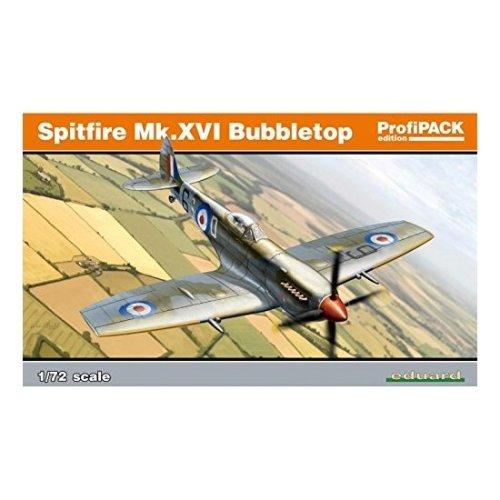Eduard 1:72 Spitfire Mk.xvi Bubbletop Kit - Edk70126 Kits Profipack 172 Mkxvi -  edk70126 eduard kits profipack 172 spitfire mkxvi bubbletop