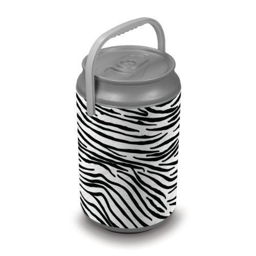 Oniva A Picnic Time Brand Mega Insulated Can Cooler Zebra Print
