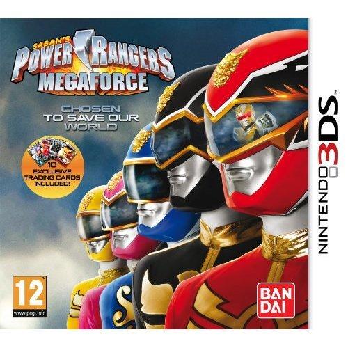 Power Rangers: Mega Force (Nintendo 3DS)