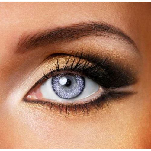 Violet 3 Tone Contact Lenses – Coloured Contact Lenses