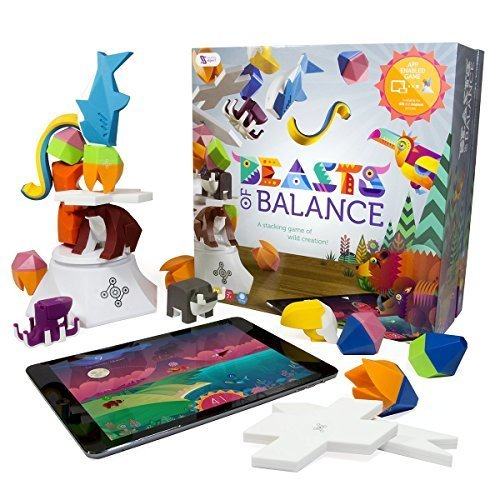 Beasts of Balance A Digital Tabletop Hybrid Family Stacking Game For Ages 7 BOB COR WW 1 GEN