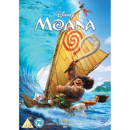 Moana DVD | 2016