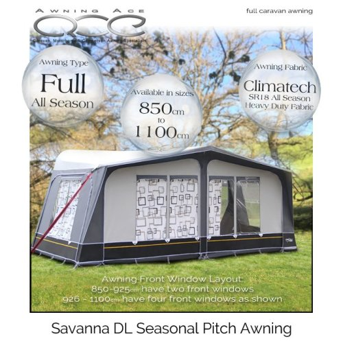 Camptech Savanna DL Luxury Touring Caravan Awning