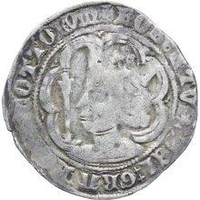 Rare 1371-1390 Robert II of Scotland Silver Groat Coin