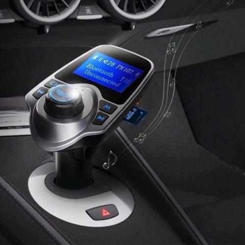 Wireless Bluetooth FM Transmitter Radio Car Kit MP3 Music Player USB Charger