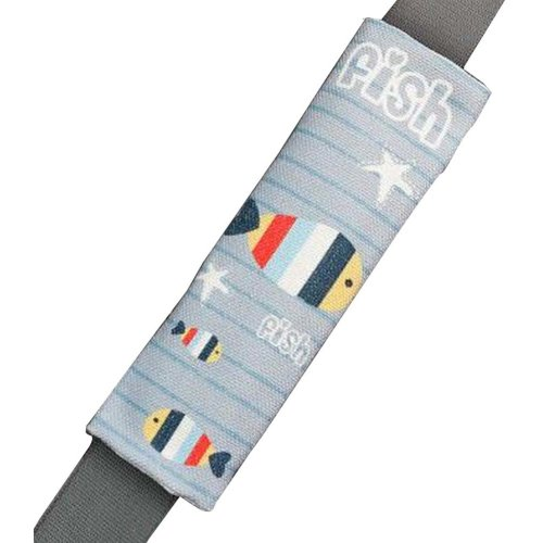1 Pair Car Seat Belt Shoulder Pads Seat Belt Cushions Fish