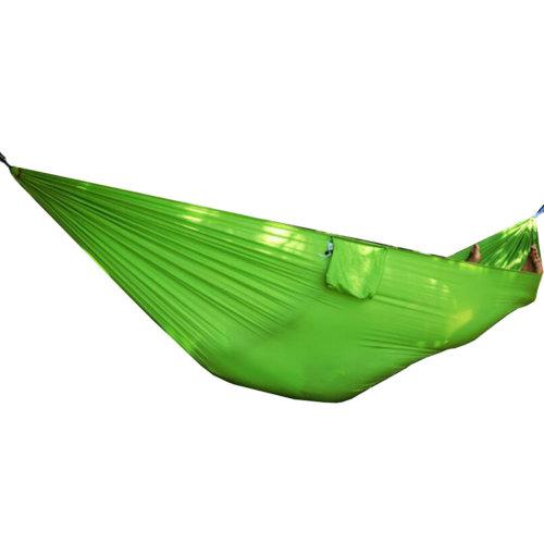 Single Person Ultralight Outdoor Hammock Camping Travel Hammocks 90*230 CM-Green