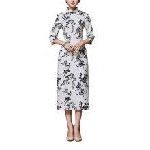 Elegant Oriental Cheongsam Qipao Chinese Style Costume Dresses, #04