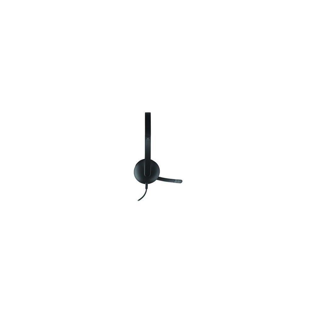 915411d0cba ... Logitech H340 Binaural Head-band Black headset - 1. >
