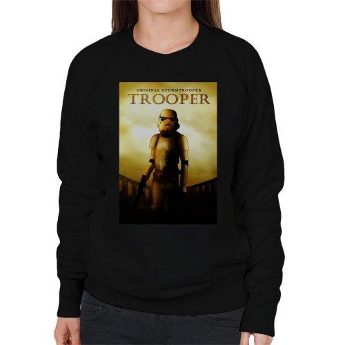 Original Stormtrooper Trooper Gladiator Parody Women's Sweatshirt
