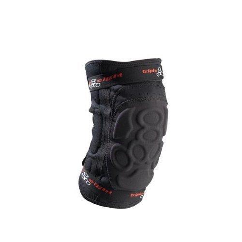 Triple Eight ExoSkin Knee Pad (Black, Medium)