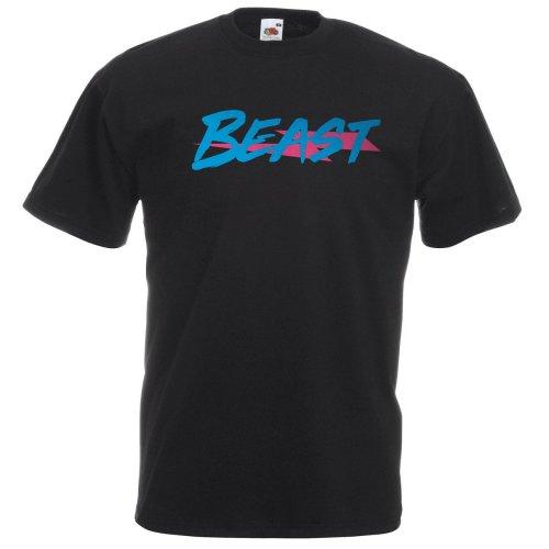 Mr Beast Party Beast Kids T-shirt