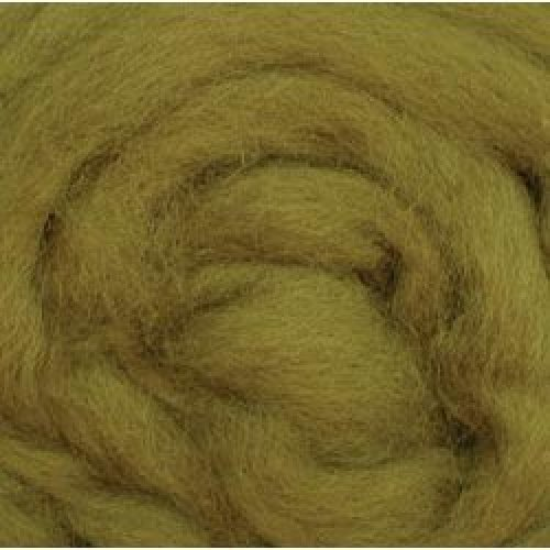 """Wistyria Editions Wool Roving 12"""" .22oz-Lima Bean"""