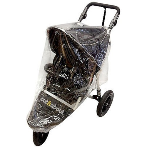Raincover Compatible with Out N About Nipper 360/Sport Pushchair (142)