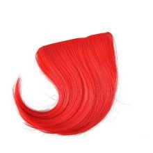 Colorful Wigs for Cosplay,Stage/Party Wig/Hair Bangs Wig, Red