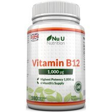 Vitamin B12 Methylcobalamin 1000mcg 180 Tablets (6 Month's Supply)