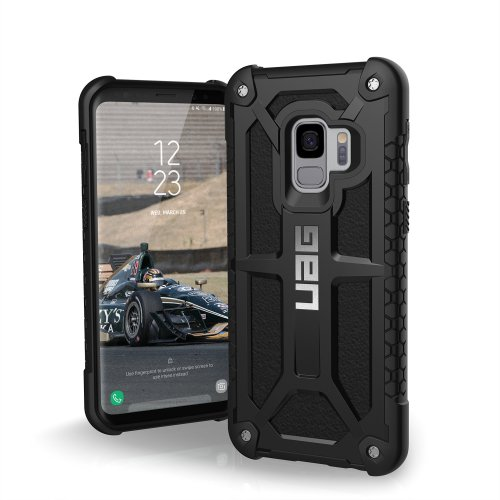 Urban Armor Gear Monarch Feather-Light Rugged Military Drop Tested Case for Samsung Galaxy S9 - Black