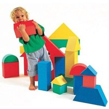 Edushape Giant Blocks, 16 Piece