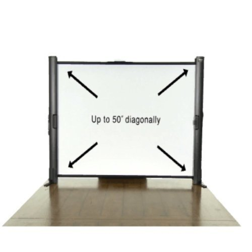 Epson ES1000 Ultra Portable Tabletop Projection Screen V12H002S4Y