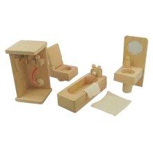 Lovely High-grade Handmade Play House Toys Wood Furniture Model Toys Games