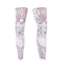 UV Protection Breathable Sports Full Compression Leg Sleeves Tai Chi And Girl