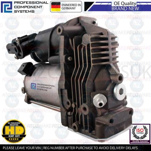FOR BMW 5 SERIES E61 AIR SUSPENSION COMPRESSOR OE QUALITY HEAVY DUTY BRAND NEW