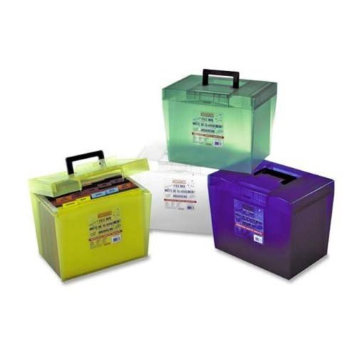 File Box with Handles, Pack of 4